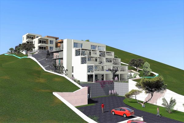 Apartments for sale Trogir - front view