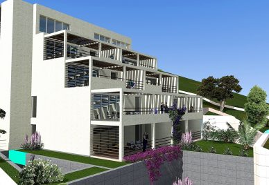 Apartments for sale Trogir - exterior