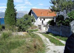 Building land for sale Ciovo - TG1235AP - access road